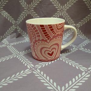 Starbucks Valentine's Day Heart Mug